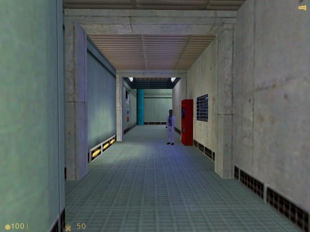 Lab-A Corridor