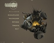 The Main Menu of Bandits: Phoenix Rising