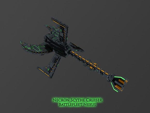 Necron Scythe Cruiser