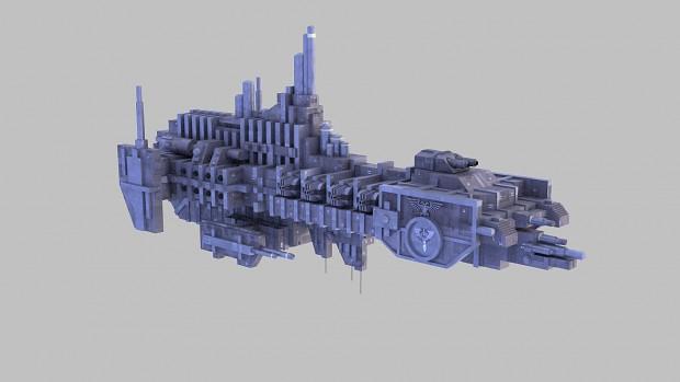 Space Marine Strike Cruiser