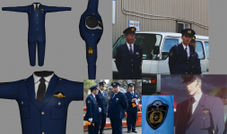Police Officer Uniform and some Reference Pics