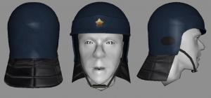 Riot Helmet Textured