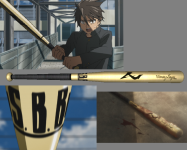 Takashi's Baseball Bat