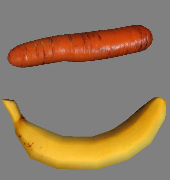 Carrot and Banana