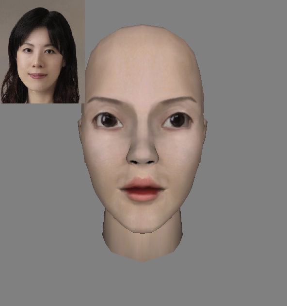 Midage Japanese Woman