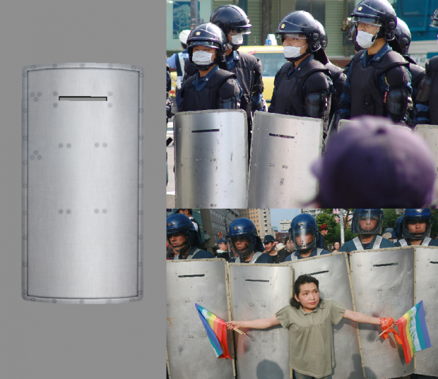 Police Riot Shield