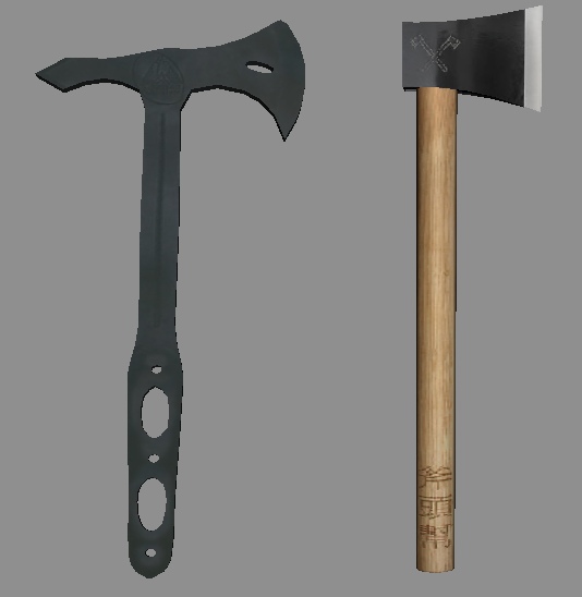 Condor Throwing Axe and Chinese Axe Gang Hatchet