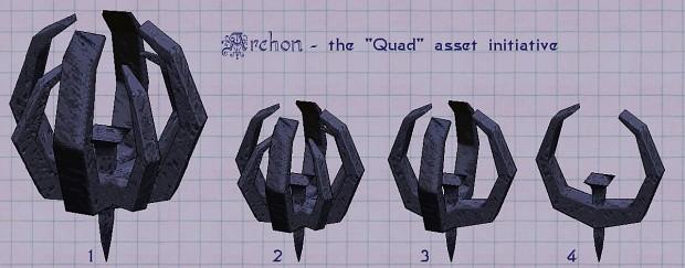 Quad asset