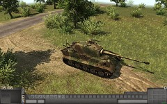 King Tiger camo zimmerit