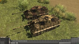 New King Tiger more camos