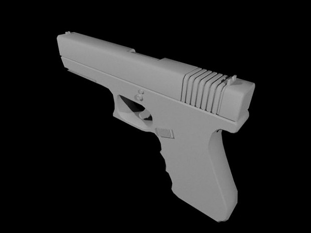 [OLD STUFF] Glock 17 - Early render