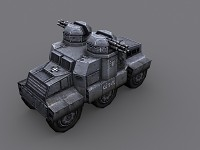 CRUSADER-U Heavy Vehicle mk2. & updated texture