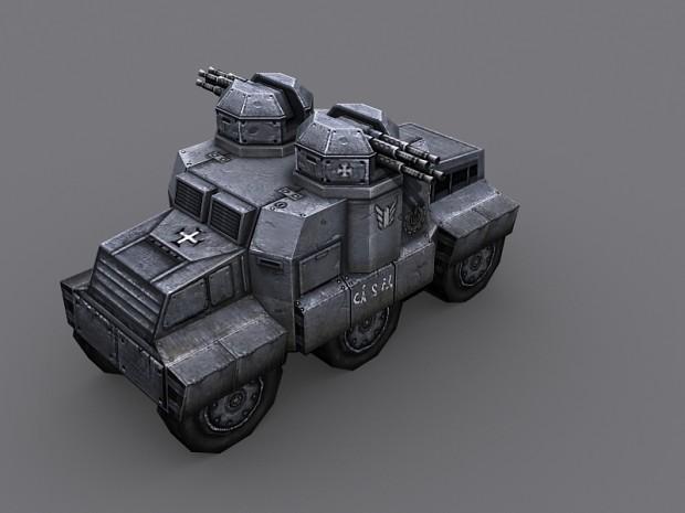CRUSADER-U Heavy Vehicle mk2. & updated texture