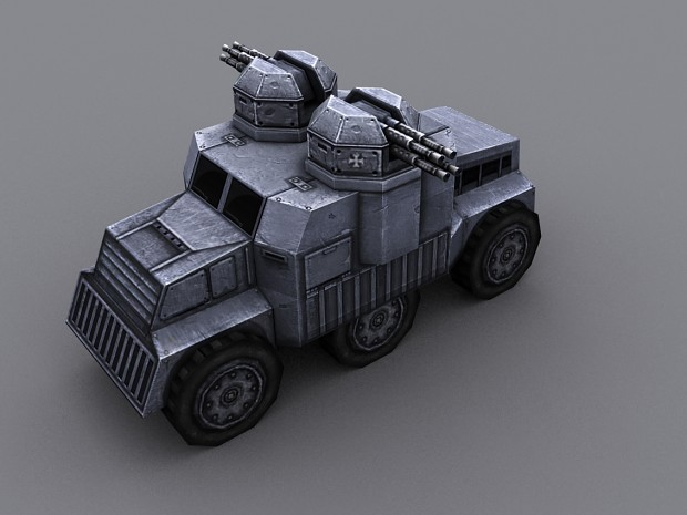 [CUHV ] CRUSADER-U (Universal) Heavy Vehicle mk1.
