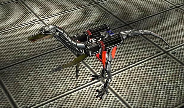 New Dino armor