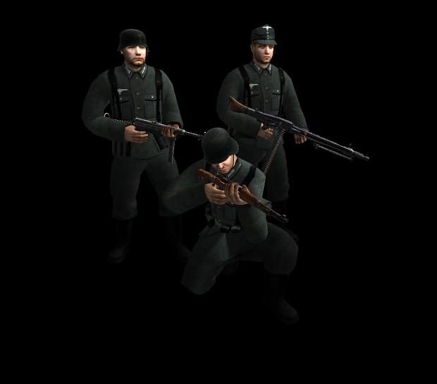 New German soldiers