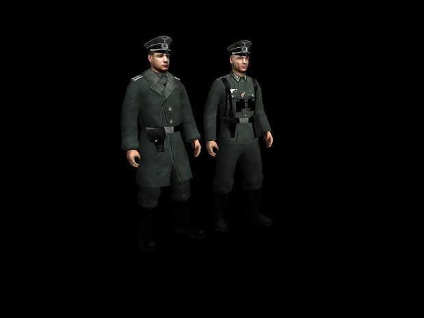 New German Officer