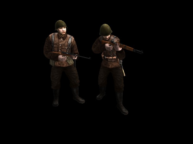 Romanian Soldier skin