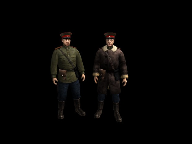 New Soviet officer
