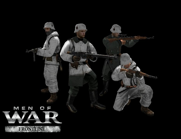 New German Winter Skins