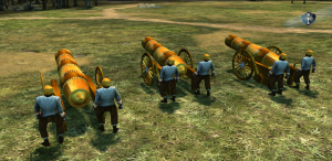 Grand cannons