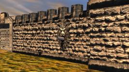 Mithlond stone walls - gun