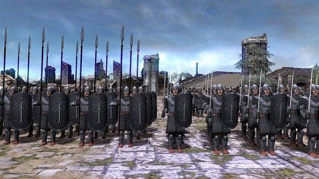 Gondorians in TLHotTA 1.2