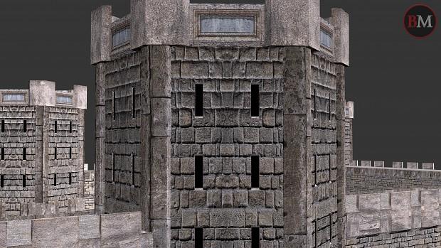 Dwarven stone walls preview