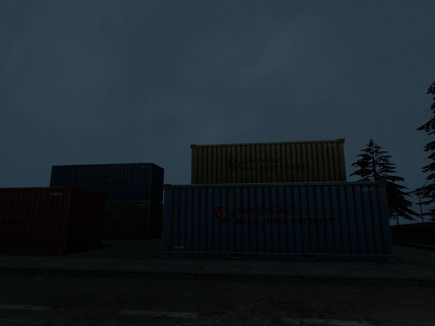 Cargo container ingame
