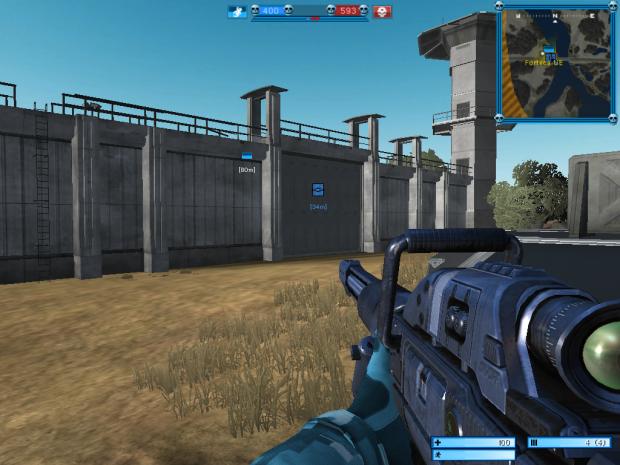 Fortress mode screenshot