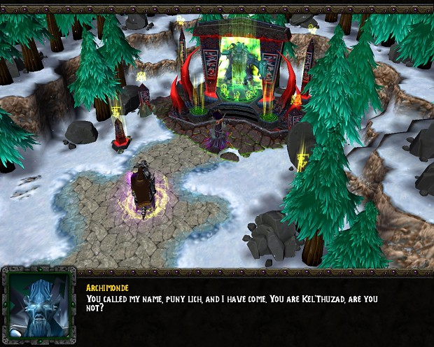 Warcraft III Ressurection September Release