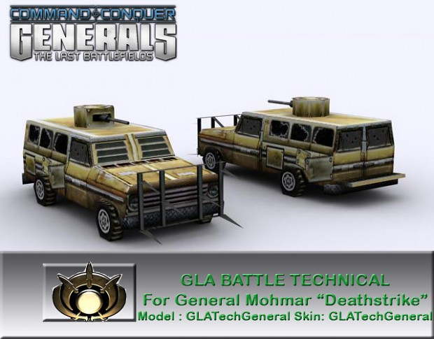 GLA Battle Technical