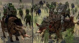 New Orc Boar Mounts Models