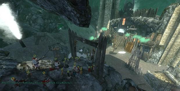 NEW Putrid Stump Battle Scene