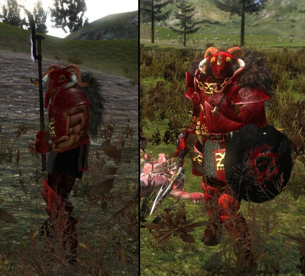 NEW Beastmen Troops Pt.2: Khorngor & Khorngor Champion
