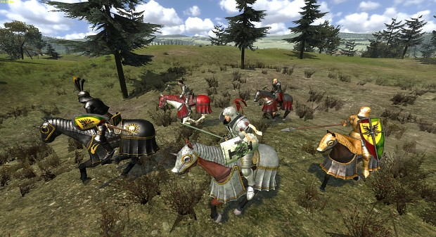 NEW Horses Heraldries, Paint Schemes and Armors