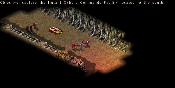 3rd Screenshots: Nod Mission 1 Mutant Cyborgs 02