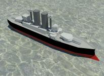 HMS Thunderchild Jeff Wayne's World War