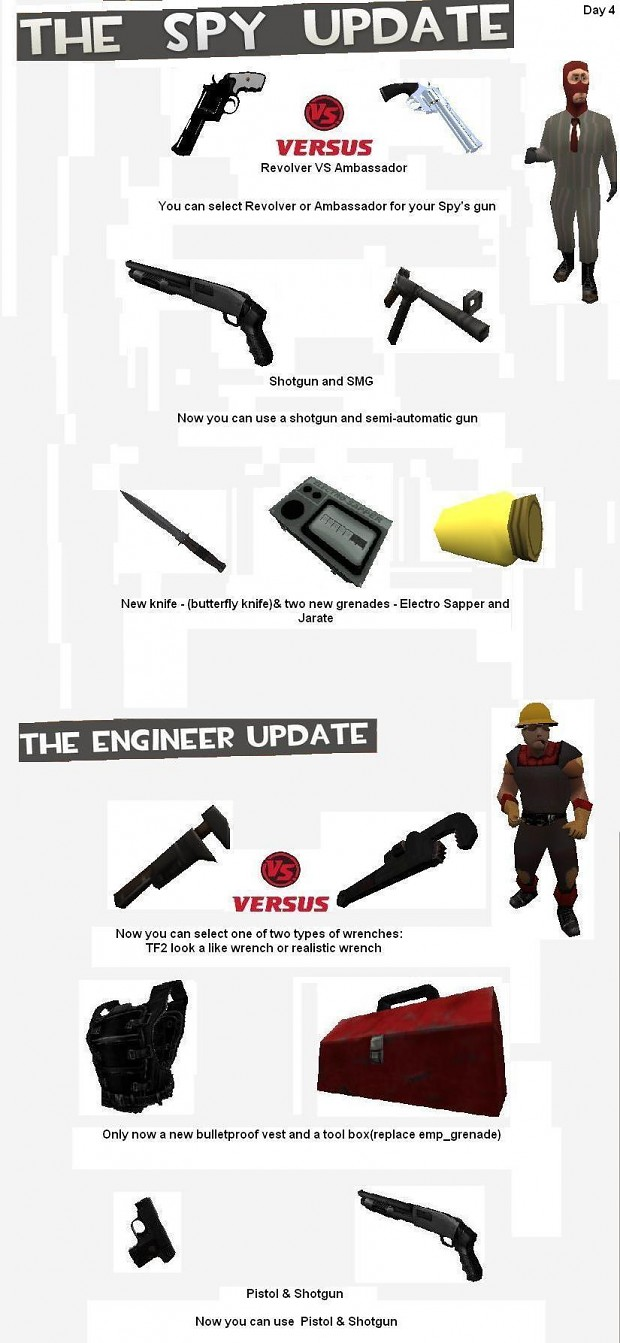 Spy VS Engineer