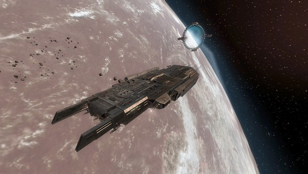 Some In-game ships image - StarGate - Earth mod for X³