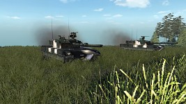 Ariete MBT in Action