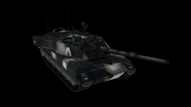 "Italian MBT ""Ariete"" (WiP)"