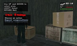 Item Storage