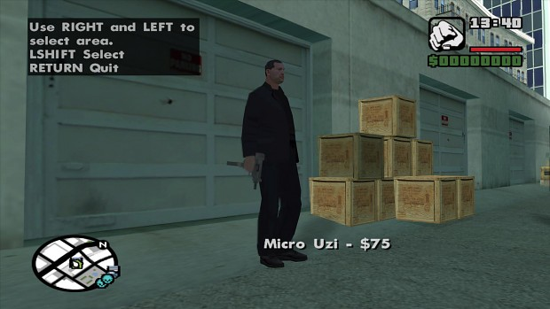 Left 4 Theft San Andreas Mod hscreen2