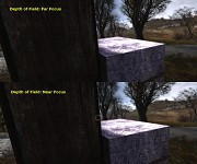 Dynamic Depth of Field Comparison