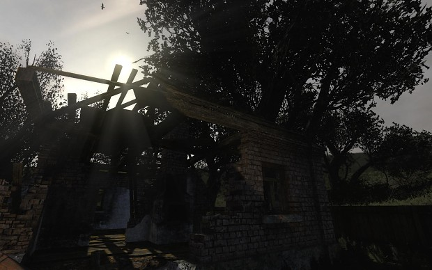 Pre-Alpha Testing Stage - Some New Sun Shafts Pix