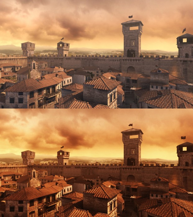 Comparison screenshot