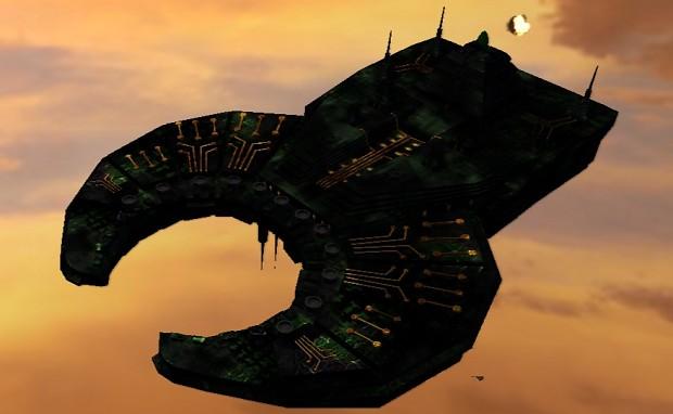 Necron Tombship Ingame