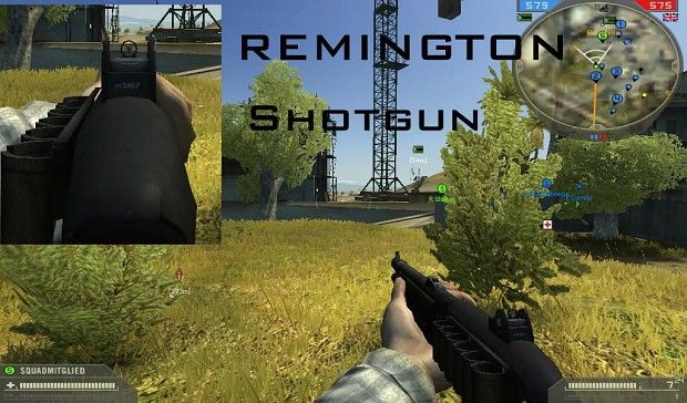 Remington Shotgun