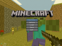 More Minecrafty menus